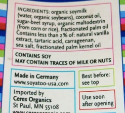 What does May Contain Traces of Milk mean