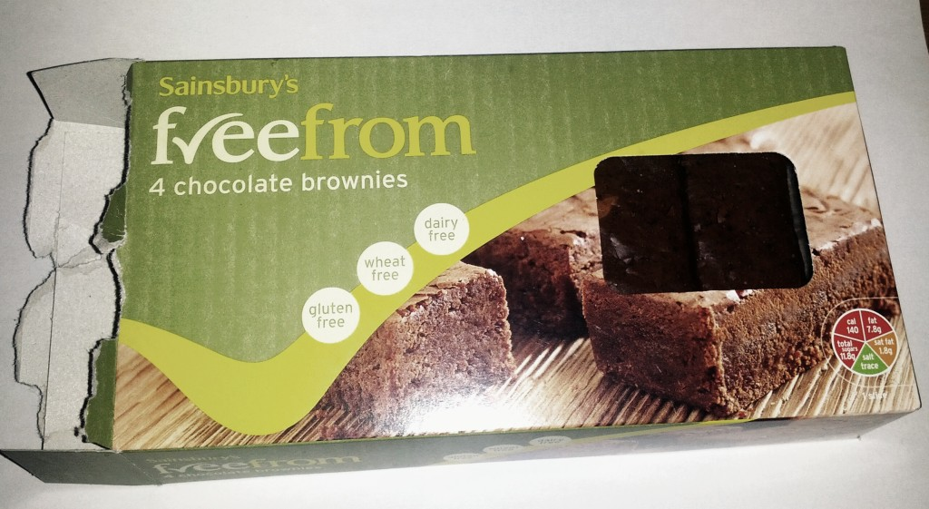 A look at Sainsbury's Freefrom Chocolate Brownies