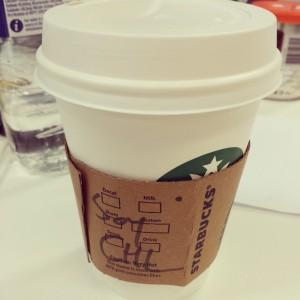 Startbucks Soy Chai Latte