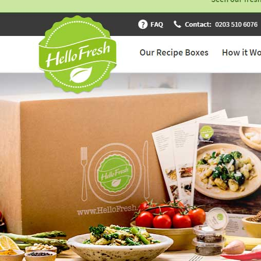 HelloFresh Lactose Free Options