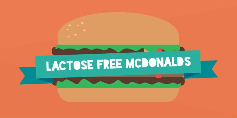 What is Lactose or Dairy Free at McDonalds